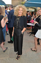 PICTURE SHOWS:-KELLY HOPPEN.<br /> Tuesday 14th April 2015 saw a host of London influencers and VIP faces gather together to celebrate the launch of The Ivy Chelsea Garden. Live entertainment was provided by jazz-trio The Blind Tigers, whilst guests enjoyed Moët & Chandon Champagne, alongside a series of delicious canapés created by the restaurant's Executive Chef, Sean Burbidge.<br /> The evening showcased The Ivy Chelsea Garden to two hundred VIPs and Chelsea<br /> residents, inviting guests to preview the restaurant and gardens which marry<br /> approachable sophistication and familiar luxury with an underlying feeling of glamour and theatre. The Ivy Chelsea Garden's interiors have been designed by Martin Brudnizki Design Studio, and cleverly combine vintage with luxury, resulting in a space that is both alluring and down-to-earth.