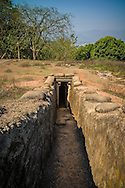 Bunker in Hill A1 'Eliane 2' in Dien Bien Phu, Muong Thanh Valley, Dien Bien Province, Vietnam, Southeast Asia