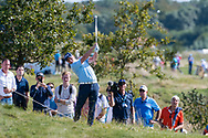 Callum Shinkwin (ENG) in action on the 9th hole during the 3rd round at the KLM Open, The International, Amsterdam, Badhoevedorp, Netherlands. 14/09/19.<br /> Picture Stefano Di Maria / Golffile.ie<br /> <br /> All photo usage must carry mandatory copyright credit (© Golffile   Stefano Di Maria)