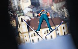 03.01.2014, Bergisel Schanze, Innsbruck, AUT, FIS Ski Sprung Weltcup, 62. Vierschanzentournee, Training, im Bild Anssi Koivuranta (FIN) // Anssi Koivuranta (FIN) during practice Jump of 62nd Four Hills Tournament of FIS Ski Jumping World Cup at the Bergisel Schanze, Innsbruck, <br /> Austria on 2014/01/03. EXPA Pictures © 2014, PhotoCredit: EXPA/ JFK