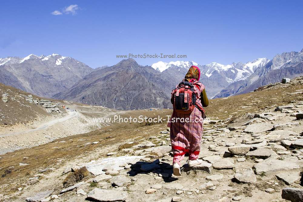 remote and arid Himalayan Landscape