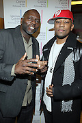 l to r: Monty Ross and Dennis White at The ImageNation celebration for the 20th Anniversary of ' Do the Right Thing' held Lincoln Center Walter Reade Theater on February 26, 2009 in New York City. ..Founded in 1997 by Moikgantsi Kgama, who shares executive duties with her husband, Event Producer Gregory Gates, ImageNation distinguishes itself by screening works that highlight and empower people from the African Diaspora.