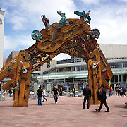 Aotea Square in Auckland City Centre, Auckland, New Zealand, 5th November 2010. Photo Tim Clayton.