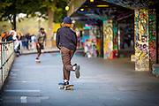 Photos © Joel Chant <br /> Street photos, South Bank, London