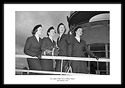 Lovely picture of the Aer Lingus Cabin Crew by Lensmen Photographic Agency. Professional photographs are a great gift for someone that is interested in Irish photography or old images of Irish people.