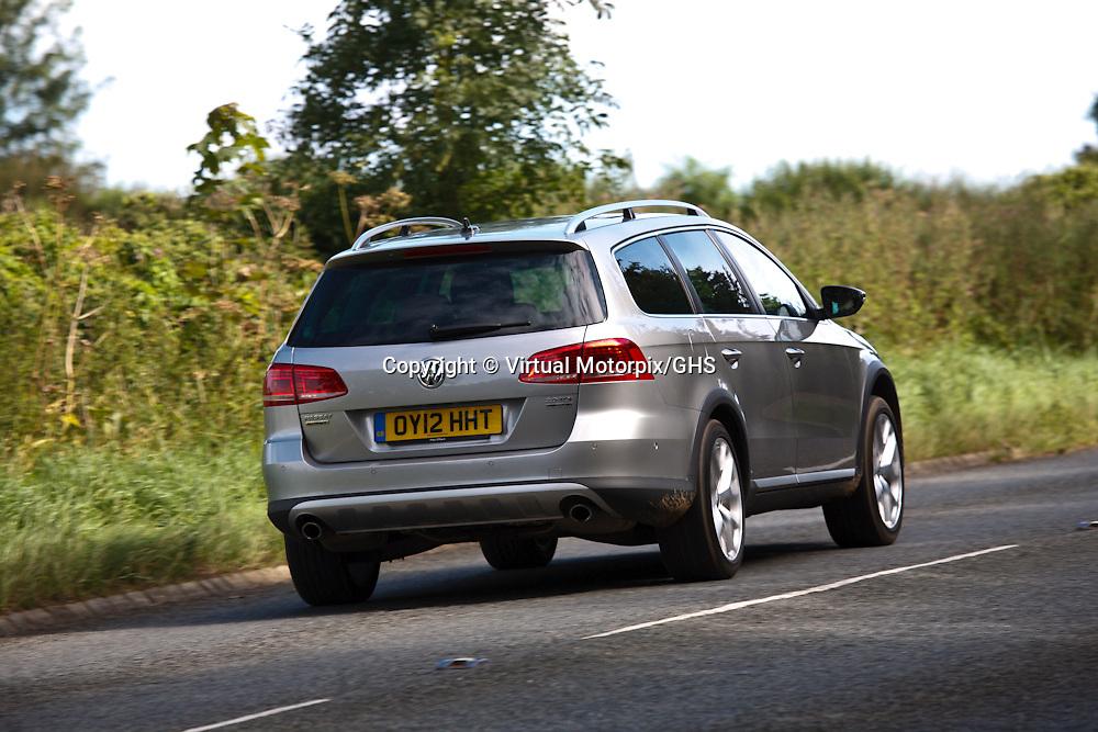 VW Passat Alltrack (2012), UK launch, Gloucestershire, United Kingdom