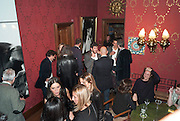 - Dinner at hosted by Ivor Braka at his home in Chelsea after the opening of Kelley Walker at the Thomas Dane Gallery. London. 13 October 2010. -DO NOT ARCHIVE-© Copyright Photograph by Dafydd Jones. 248 Clapham Rd. London SW9 0PZ. Tel 0207 820 0771. www.dafjones.com.