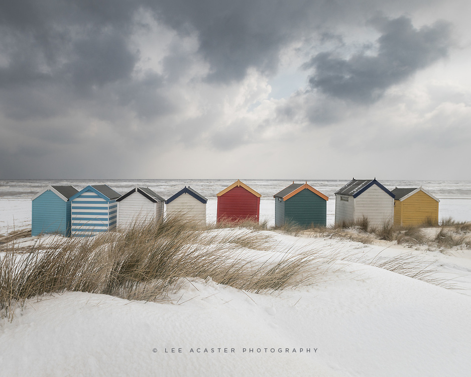 Finally had the first proper snowfall in East Anglia since taking up photography, and its even made it to the beach!