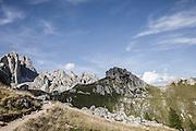 Trentino, Vigo di Fassa,  Rifugio Roda di Vaèl