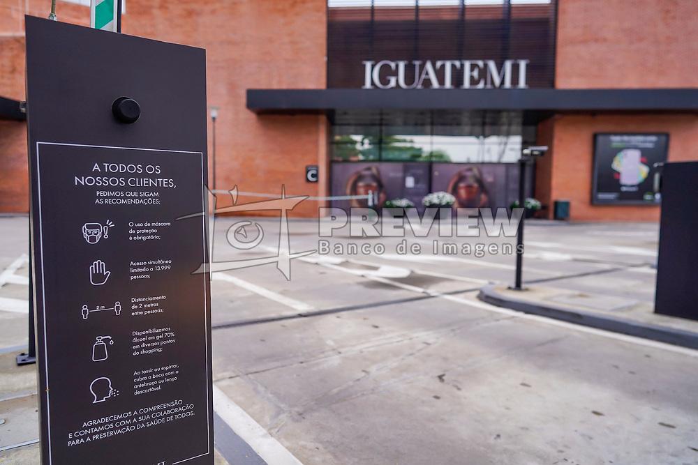 Reabertura do Shopping Center Iguatemi. FOTO: Cesar Lopes/ Agência Preview