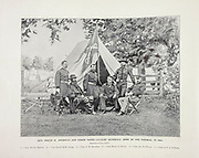 """General Philip H. Sheridan from The American Civil War book and Grant album : """"art immortelles"""" : a portfolio of half-tone reproductions from rare and costly photographs designed to perpetuate the memory of General Ulysses S. Grant, depicting scenes and incidents in connection with the Civil War Published  in Boston and New York by W. H. Allen in 1894"""