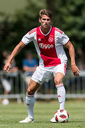 Sven Botman of Ajax during the friendly match between Ajax Amsterdam and FC Nordsjaelland  on July 7, 2018 at Sportpark Putter Eng in Putten, The Netherlands