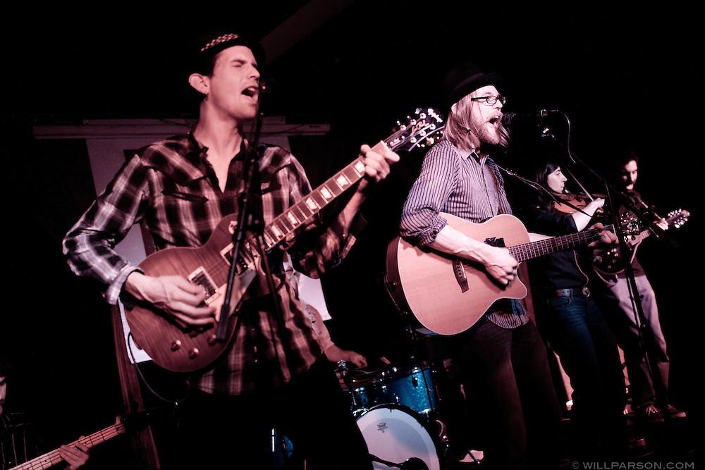San Diego-based sonic folk group River City plays Ruby Room, Feb. 18, 2011.
