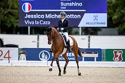 Botton Jessica Michel, FRA, Viva La Caza<br /> World Championship Young Horses Verden 2021<br /> © Hippo Foto - Dirk Caremans<br /> 26/08/2021