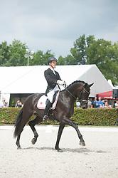 Petersen Morten Kappel, DEN, Kamar s Don Noir Hit<br /> World Championship Young Dressage Horses <br /> Ermelo 2016<br /> © Hippo Foto - Leanjo De Koster<br /> 29/07/16