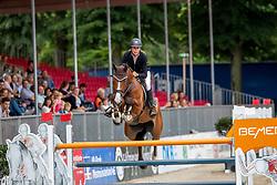 RIJKENS Janine (GER), C VIER 2<br /> Münster - Turnier der Sieger 2019<br /> BRINKHOFF'S NO. 1 -  Preis<br /> CSI4* - Int. Jumping competition  (1.50 m) -<br /> 1. Qualifikation Grosse Tour <br /> Large Tour<br /> 02. August 2019<br /> © www.sportfotos-lafrentz.de/Stefan Lafrentz