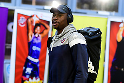 Daniel Edozie of Bristol Flyers arrives at SGS Wise Arena prior to kick off - Photo mandatory by-line: Ryan Hiscott/JMP - 17/01/2020 - BASKETBALL - SGS Wise Arena - Bristol, England - Bristol Flyers v London City Royals - British Basketball League Championship