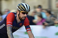 Sir Bradley Wiggins of Great Britain and Team Wiggins during the Tour of Britain 2016 stage 8 , London, United Kingdom on 11 September 2016. Photo by Mark Davies.
