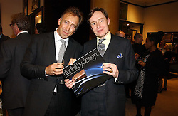 Left to right, MARK DUNHILL and NICK FOULKES at the launch of Dunhill by Design by Nick Foulkes held at Alfred Dunhill, 48 Jermyn Street, London on 24th October 2006.<br /><br />NON EXCLUSIVE - WORLD RIGHTS
