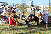 Thriller Zombie Dance at West Gray Multi-Service Center