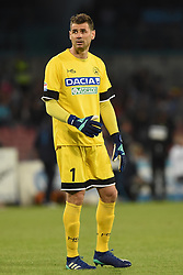 April 18, 2018 - Naples, Naples, Italy - Albano Bizzarri of Udinese Calcio during the Serie A TIM match between SSC Napoli and Udinese Calcio at Stadio San Paolo Naples Italy on 18 April 2018. (Credit Image: © Franco Romano/NurPhoto via ZUMA Press)