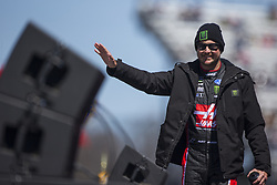 March 26, 2018 - Martinsville, Virginia, United States of America - March 26, 2018 - Martinsville, Virginia, USA: Kurt Busch (41) gets introduced for the STP 500 at Martinsville Speedway in Martinsville, Virginia. (Credit Image: © Chris Owens Asp Inc/ASP via ZUMA Wire)