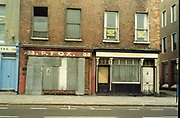 Old Dublin Amature Photos May 1983 WITH, Kavanagh's Pub, Dorset St, Shop Front, Aston Quay, Halfpenny Bridge, Merchants Arch, P.Fox, Photo Copying,