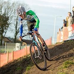 11-01-2020: Wielrennen: NK Veldrijden: Rucphen<br />Menno Huising  pakt brons
