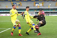 Patrik Schick Roma<br /> Roma 10-12-2017  Stadio Marcantonio Bentegodi<br /> Campionato Serie A, Derby<br /> Chievo  Verona - AS Roma<br /> Foto Gino Mancini / Insidefoto