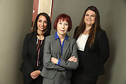 SHOT 12/4/19 11:16:17 AM - McGuane & Hogan, P.C., a Colorado family law firm located in Denver, Co. Includes attorneys Kathleen Ann Hogan, Halleh T. Omidi and Katie P. Ahles. (Photo by Marc Piscotty / © 2019)