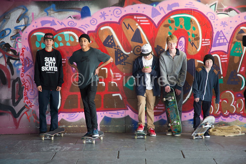 The undercroft of the foyer building of the Queen Elizabeth Hall on the South Bank has been popular with skateboarders since the early 70's and it is widely acknowledged to be London's most distinctive and popular skateboarding area. The area is used by skateboarders, BMX riders, graffiti artists, taggers, photographers, buskers, and performance artists, among others. Although this informal activity, social and arts scene is a distinctive feature of the Southbank Centre site, it was proposed that the area would be redeveloped.