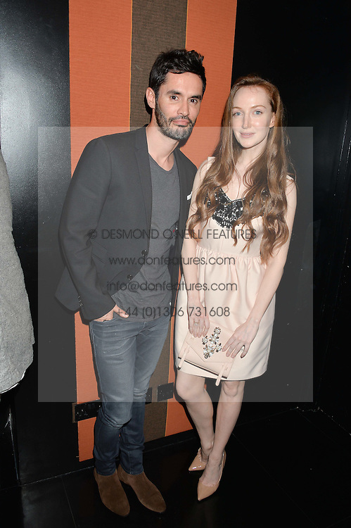JEAN-BERNARD FERNANDEZ-VERSINI and OLIVIA GRANT at the launch of Blakes Below at Blakes Hotel, 33 Roland gardens, London SW7 on 14th September 2016.
