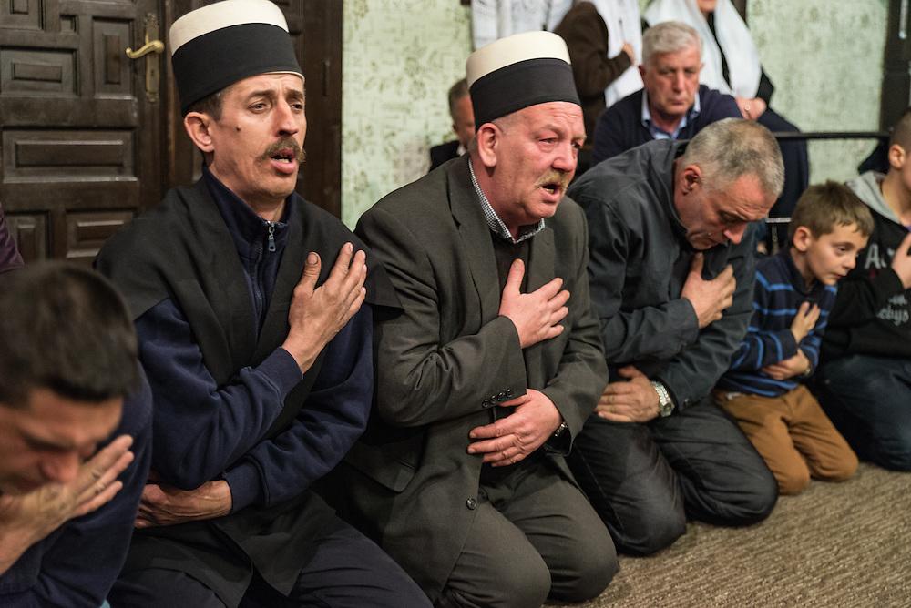 Sufi's sing during Zikr