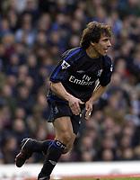 Copyright Sportsbeat. 0208 3926656<br />Picture: Henry Browne<br />Date: 8/02/2003<br />Birmingham v Chelsea FA Barclaycard Premiership<br />Gianfranco Zola celebrates scoring Chelsea's first goal