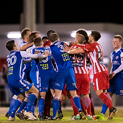 BRISBANE, AUSTRALIA - AUGUST 1:  during the Westfield FFA Cup Round of 32 match between Peninsula Power and Melbourne City on August 1, 2017 in Brisbane, Australia. (Photo by Patrick Kearney)