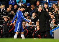 Stamford Bridge Chelsea v Liverpool  (0-1) Premier League 06/02/2011<br />Disappointing debut for Fernando Torres (Chelsea)  as the £50  million player is substituted by Carlo Ancelotti in the second half<br />Photo: Roger Parker Fotosports International