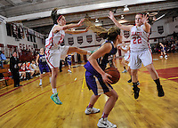 Point Pleasant Beach edged St. Rose, 69-68 in girls basketball. / Russ DeSantis Photography and Video, LLC