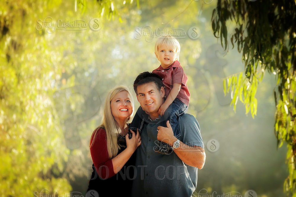 29 October 2012:  Kirk, Cathleen and Garrett Templeman in Huntington Beach, CA.