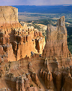Towering Cliff At Bryce Canyon National Park; Utah