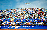 BARCELONA, SPAIN - APRIL 26: Rafael Nadal during the Open Banco Sabadell 2009 tennis tournament at the Real Club de Tenis on April 26, 2009 in Barcelona. (Photo by Manuel Queimadelos)