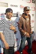 l to r: DJ Clue and Fabolous at The Sixth Annual ESPN Pre-Draft Party held at Espace on April 24, 2009 in New York City