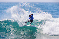 Current No.15 on the Jeep Leaderboard Sebtastian Zietz of Hawaii advances directly to Round Three of the 2017 Hurley Pro Trestles after winning Heat 10 of Round One at Trestles, CA, USA.