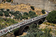 Illustration peloton, Scenery during the UCI World Tour, Tour of Spain (Vuelta) 2018, Stage 5, Granada - Roquetas de Mar 188,7 km in Spain, on August 29th, 2018 - Photo Luca Bettini / BettiniPhoto / ProSportsImages / DPPI