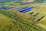 Nederland, Noord-Brabant, Gemeente Deurne, 23-08-2016; Deurnsche Peel, tussen Helenaveen en Griendtsveen, Kanaal van Deurne.<br /> Region of the Peel, former peat bog.<br /> aerial photo (additional fee required); <br /> luchtfoto (toeslag op standard tarieven);<br /> copyright foto/photo Siebe Swart