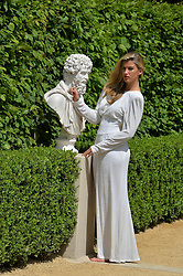 AMY WILLERTON at the 2014 RHS Chelsea Flower Show held at the Royal Hospital Chelsea, London on 19th May 2014.