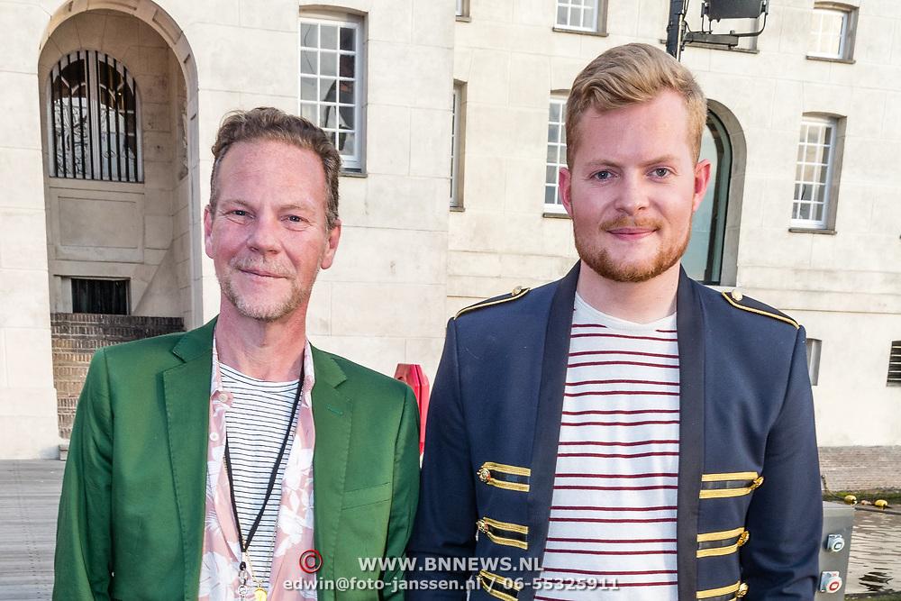 NLD/Amsterdam//20170522 - Film premiere  Pirates of the Caribbean, Bastiaan van Schaik en partner Ramon Heinhuis