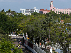 March 9, 2019 - St. Petersburg, Florida, U.S. - DIRK SHADD   |   Times  .With the Vinoy Renaissance Hotel‎ pictured in the background, Indy Pro 2000 cars race around turn nine at the Grand Prix of St. Petersburg in St. Petersburg on Saturday, March 9, 2019. (Credit Image: © Dirk Shadd/Tampa Bay Times via ZUMA Wire)