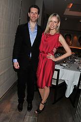 MARLON & NADYA ABELA attend the MARC Restaurants Truffle Dinner hosted by Marlon & Nadya Abela at Cassis, 232-236 Brompton Road, London on 13th February 2013.