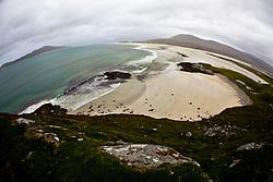 Seilebost beach on the Isle of Harris, the Western Isles, Scotland.