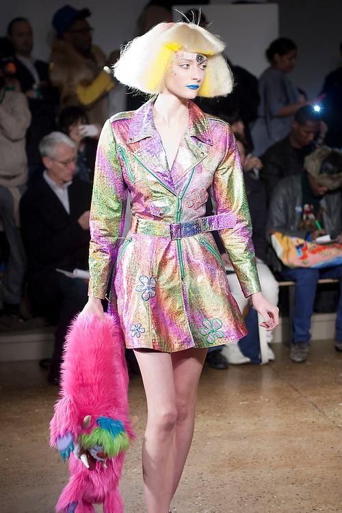 Jeremy Scott fashion show during day six at AW 2012 New York Fashion Week, NY, USA. February 15, 2012.